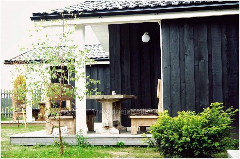 Jaunas vienu i divu istabu koka mājas Sventoji - 8