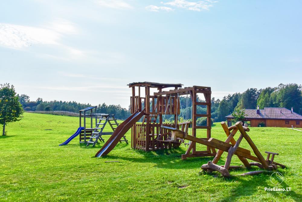 Lauku sēta Stirnamis Moletai rajona, Lietuva - 8