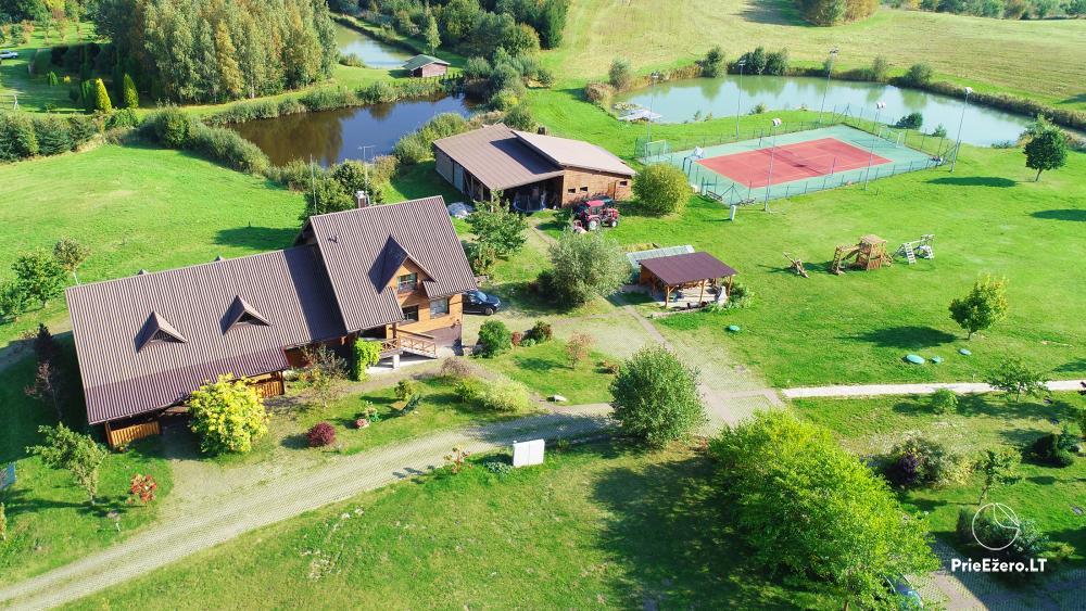 Lauku sēta Stirnamis Moletai rajona, Lietuva - 1