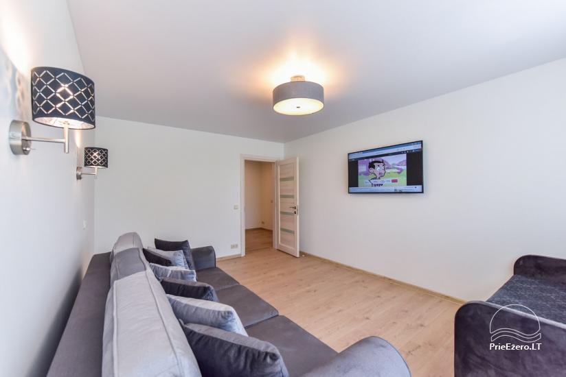 Divu un trīs istabu dzīvoklis Druskininkos - 34