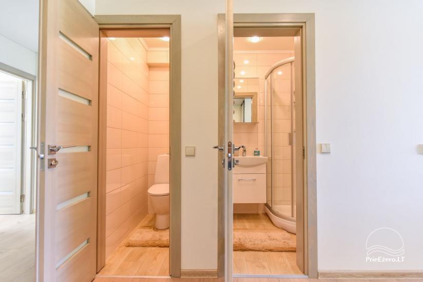 Divu un trīs istabu dzīvoklis Druskininkos - 22