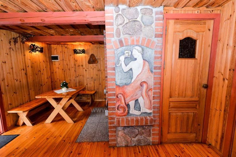 Villa Žiogeliai Druskininkos: brīvdienu mājiņas, pirts - 12