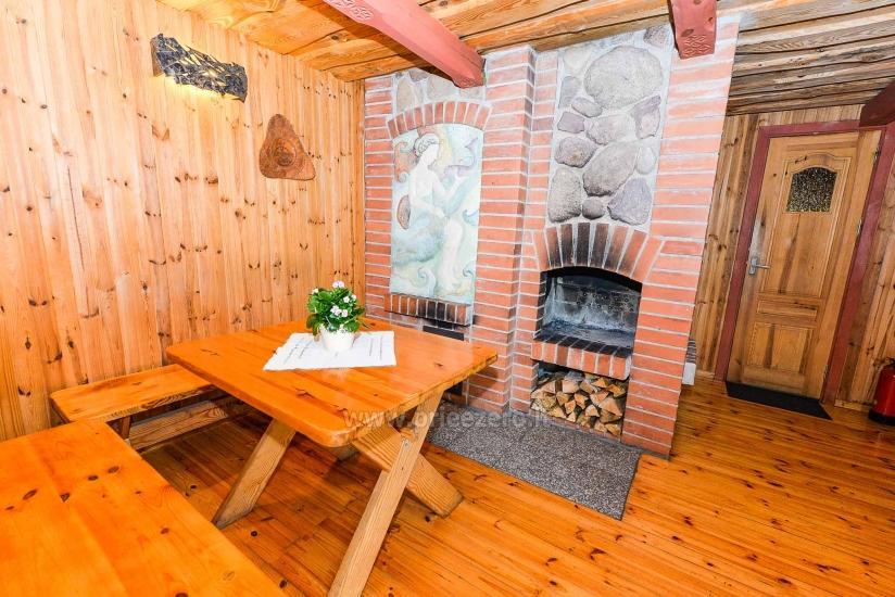 Villa Žiogeliai Druskininkos: brīvdienu mājiņas, pirts - 15