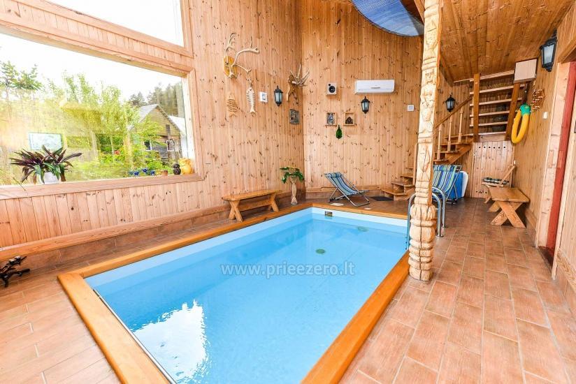 Villa Žiogeliai Druskininkos: brīvdienu mājiņas, pirts - 20