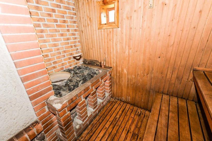 Villa Žiogeliai Druskininkos: brīvdienu mājiņas, pirts - 23