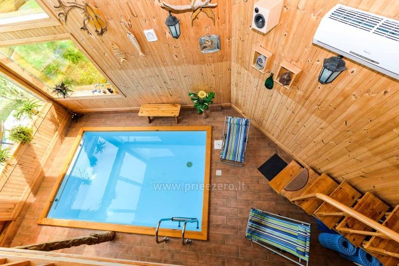 Villa Žiogeliai Druskininkos: brīvdienu mājiņas, pirts - 27