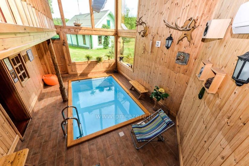 Villa Žiogeliai Druskininkos: brīvdienu mājiņas, pirts - 37