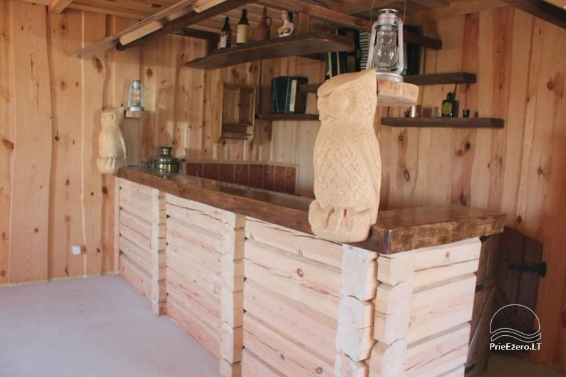 Lauku māja Owl house Utenas rajonā, Lietuvā - 11