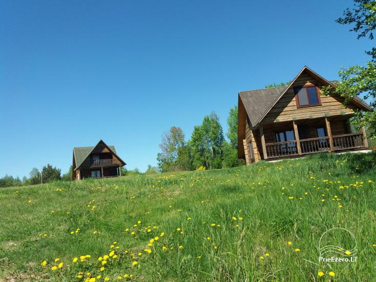 Lauku sēta pie Lazdiju novada Zapses ezera Lietuvā - 2