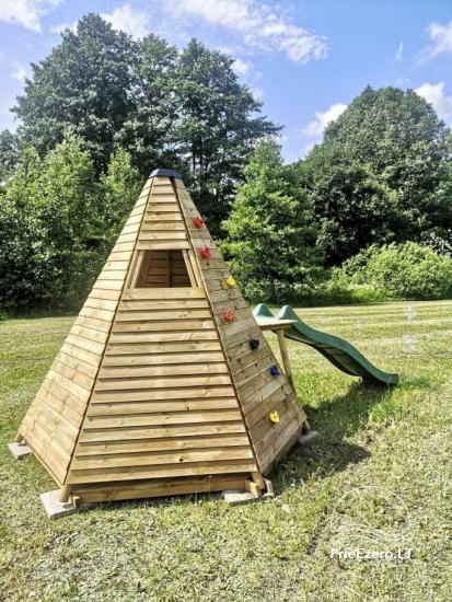 Lauku sēta pie Lazdiju novada Zapses ezera Lietuvā - 18