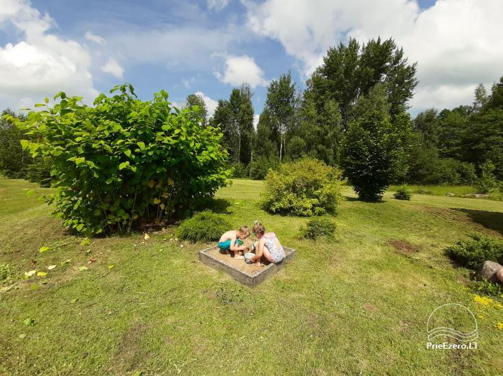 Lauku sēta pie Lazdiju novada Zapses ezera Lietuvā - 20