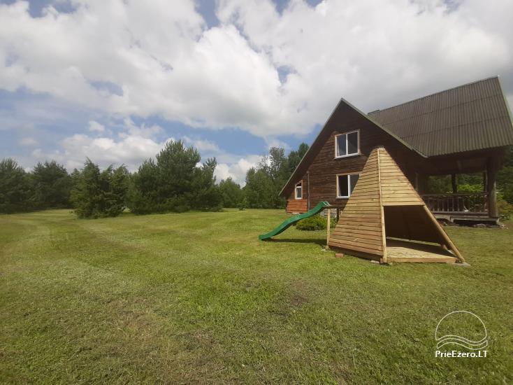 Lauku sēta pie Lazdiju novada Zapses ezera Lietuvā - 26