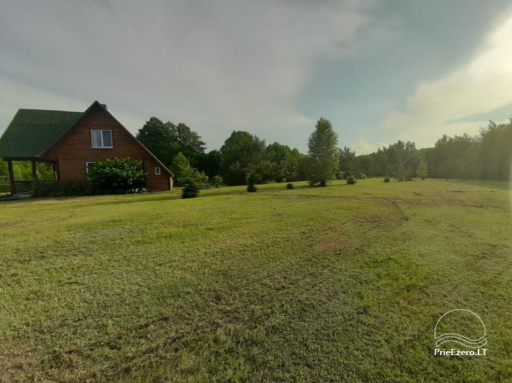 Lauku sēta pie Lazdiju novada Zapses ezera Lietuvā - 1
