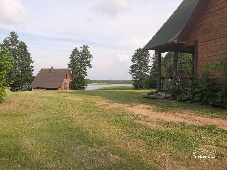 Lauku sēta pie Lazdiju novada Zapses ezera Lietuvā - 3
