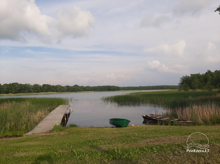 Lauku sēta pie Lazdiju novada Zapses ezera Lietuvā - 27