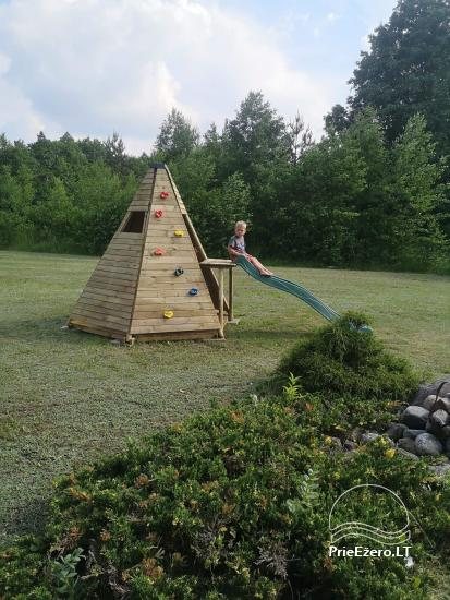 Lauku sēta pie Lazdiju novada Zapses ezera Lietuvā - 24
