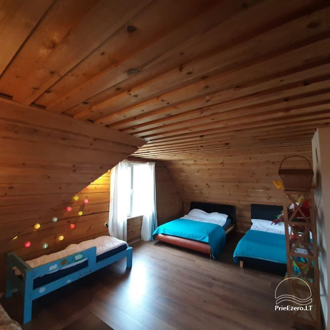 Lauku sēta pie Lazdiju novada Zapses ezera Lietuvā - 13