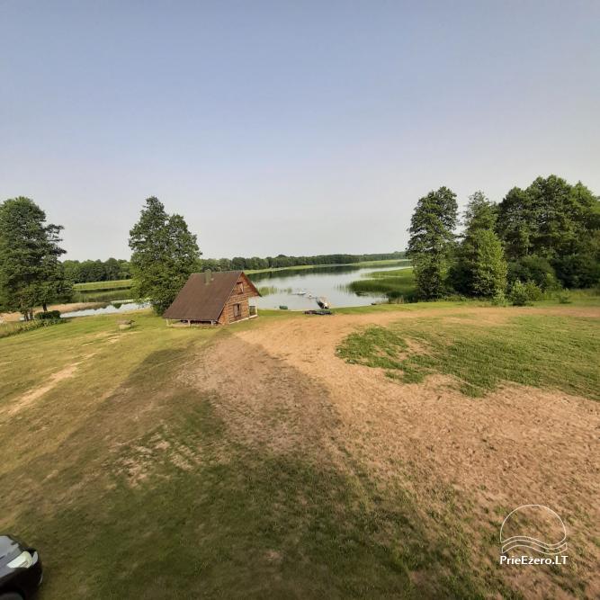 Lauku sēta pie Lazdiju novada Zapses ezera Lietuvā - 4