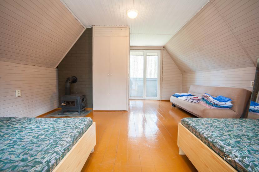 Brīvdienu māja 40 km no Viļņas centra, netālu no Pailgis ezera - 8