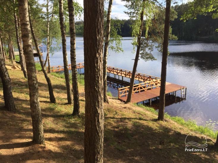 Brīvdienu māja 40 km no Viļņas centra, netālu no Pailgis ezera - 9