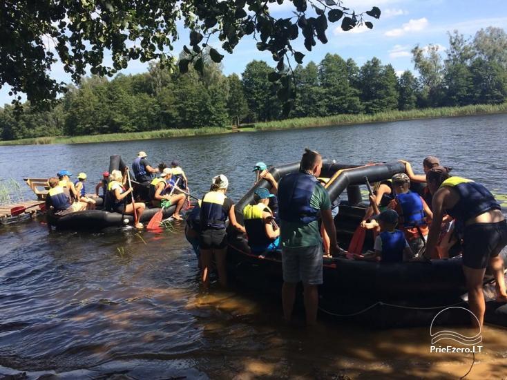 Kempings Dulga pie Druskininku ezera - 10