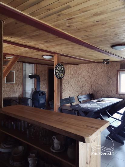 Lauku māja Molėtų rajonā netālu no Virinta ezera Labs ciems - 13
