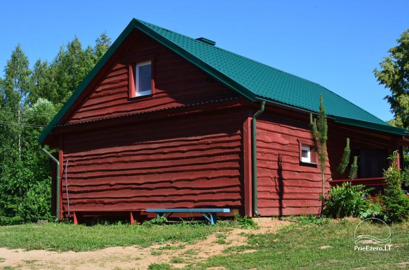 Lauku māja Molėtų rajonā netālu no Virinta ezera Labs ciems - 3