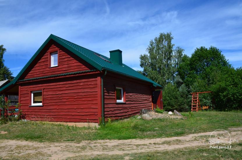 Lauku māja Molėtų rajonā netālu no Virinta ezera Labs ciems - 1