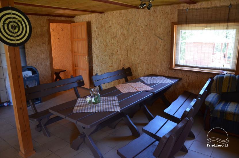 Lauku māja Molėtų rajonā netālu no Virinta ezera Labs ciems - 11