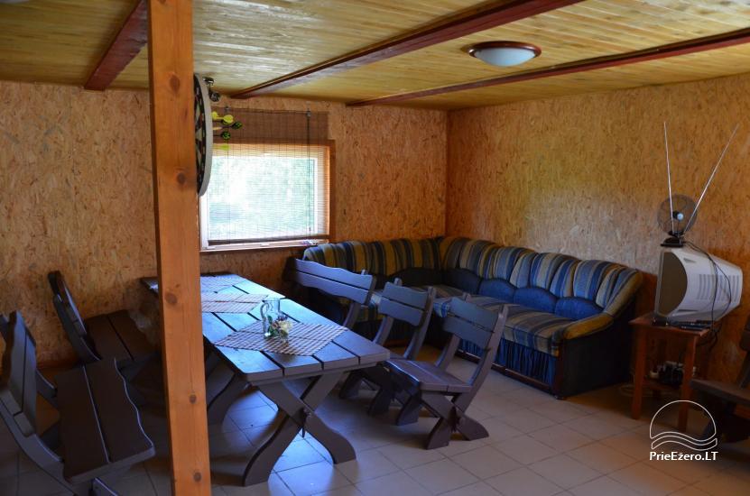 Lauku māja Molėtų rajonā netālu no Virinta ezera Labs ciems - 14
