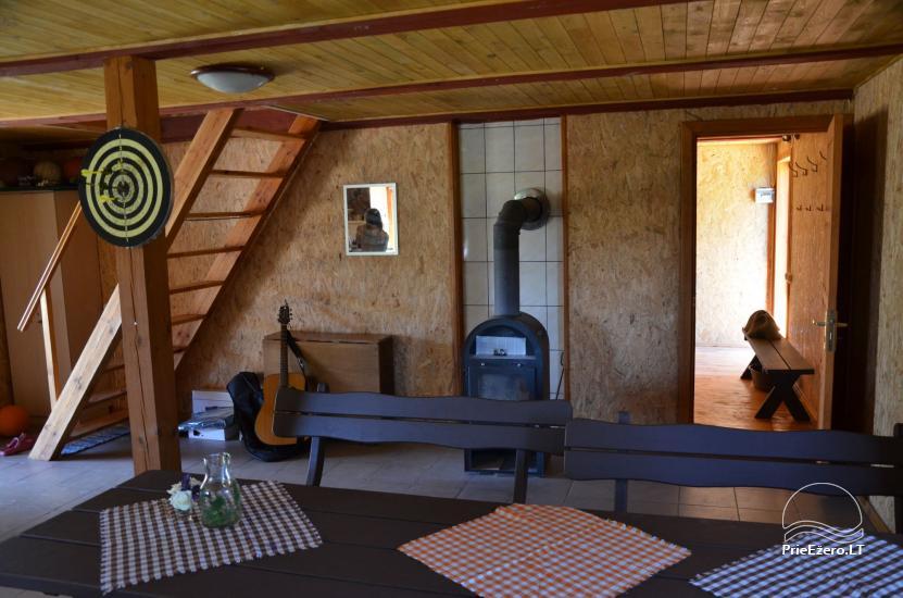 Lauku māja Molėtų rajonā netālu no Virinta ezera Labs ciems - 12