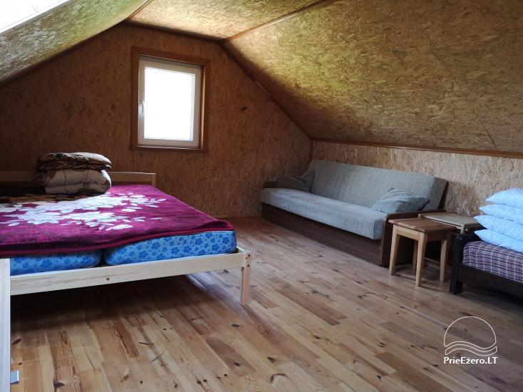 Lauku māja Molėtų rajonā netālu no Virinta ezera Labs ciems - 18