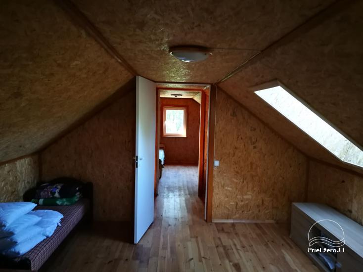 Lauku māja Molėtų rajonā netālu no Virinta ezera Labs ciems - 19