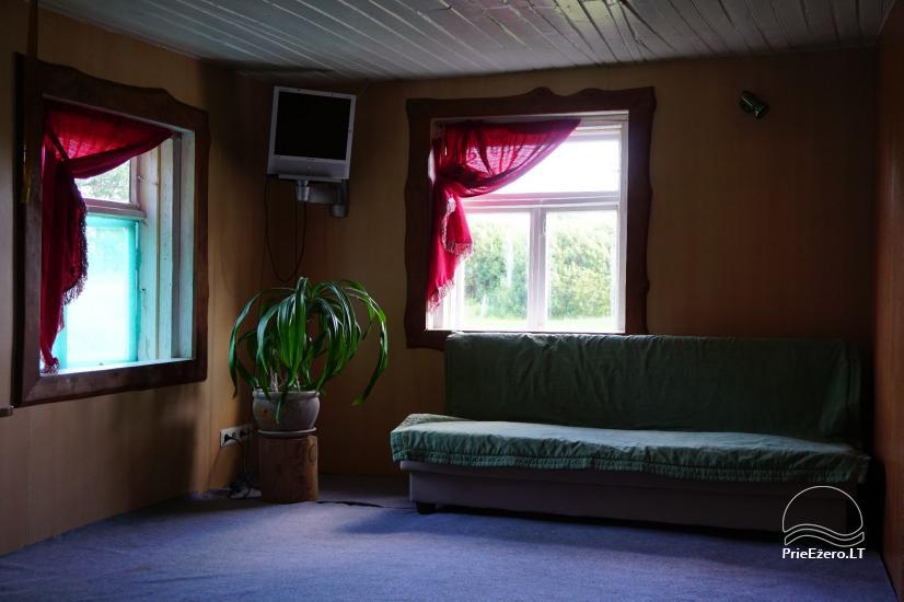 Sauna Jūsu atpūtai pie ezera krasta Moletai novadā, Lietuvā - 6