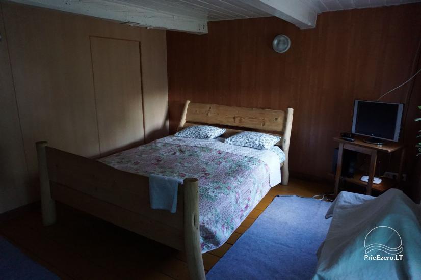 Sauna Jūsu atpūtai pie ezera krasta Moletai novadā, Lietuvā - 8