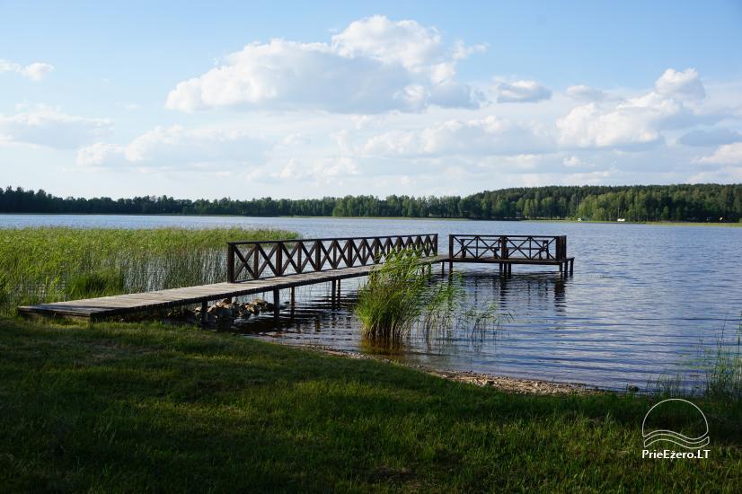 Sauna Jūsu atpūtai pie ezera krasta Moletai novadā, Lietuvā - 2