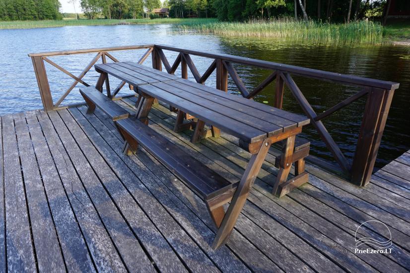 Privātā zemnieku saimniecība Jūsu atpūtai pie ezera krasta Moletai novadā, Lietuvā - 3