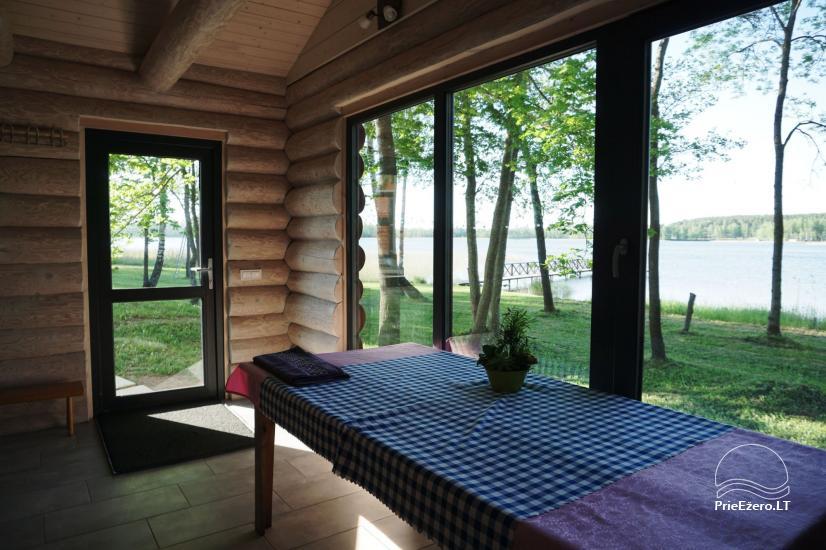 Sauna Jūsu atpūtai pie ezera krasta Moletai novadā, Lietuvā - 1