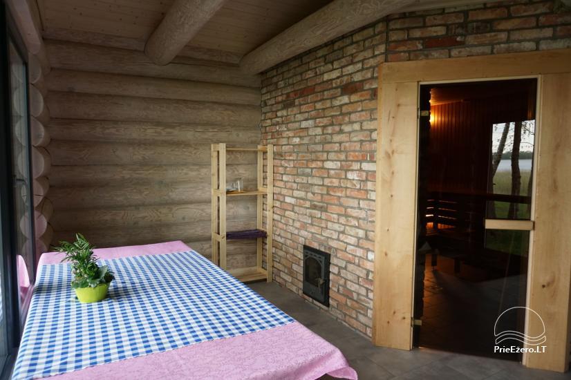 Sauna Jūsu atpūtai pie ezera krasta Moletai novadā, Lietuvā - 7