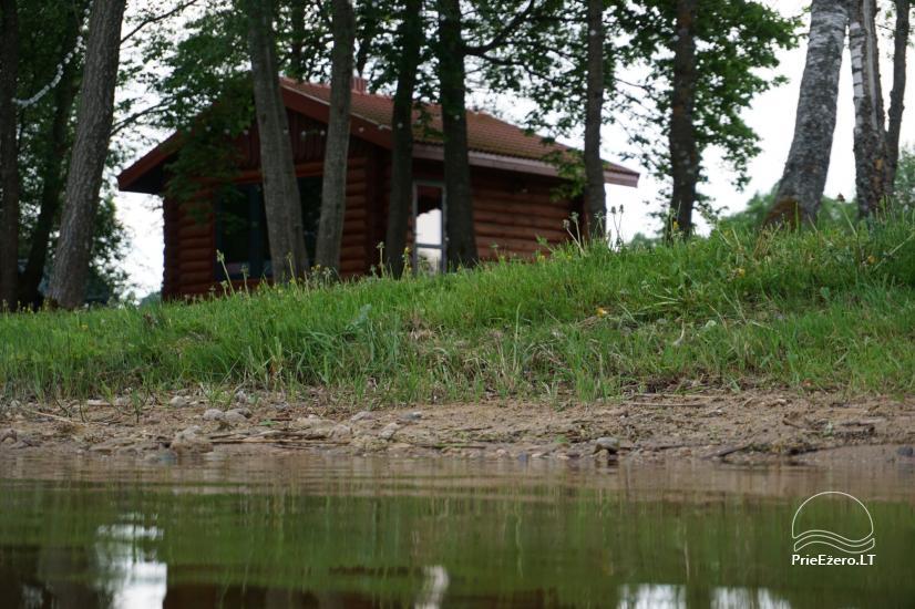 Sauna Jūsu atpūtai pie ezera krasta Moletai novadā, Lietuvā - 9