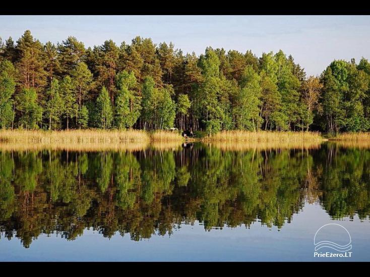 Lauku māja pie ezera Ilgis Moljeta rajonā, Lietuvā - 50