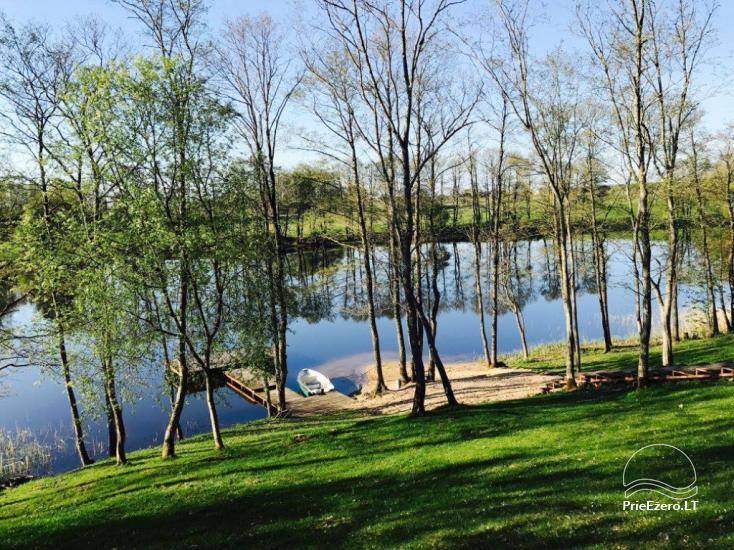 Lauku māja pie ezera Ilgis Moljeta rajonā, Lietuvā - 23