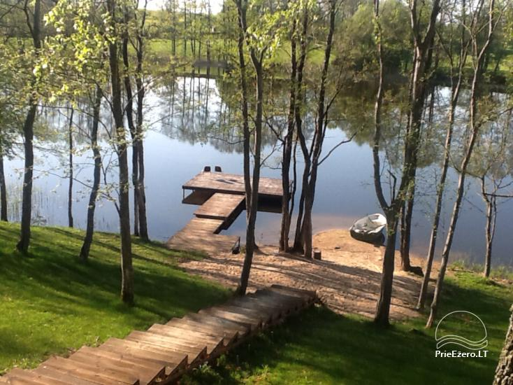 Lauku māja pie ezera Ilgis Moljeta rajonā, Lietuvā - 29