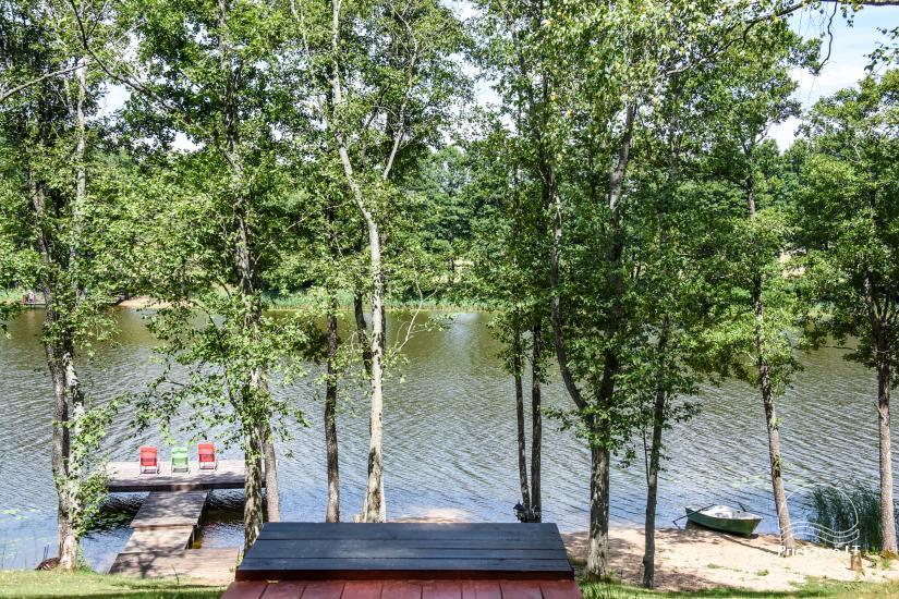 Lauku māja pie ezera Ilgis Moljeta rajonā, Lietuvā - 22