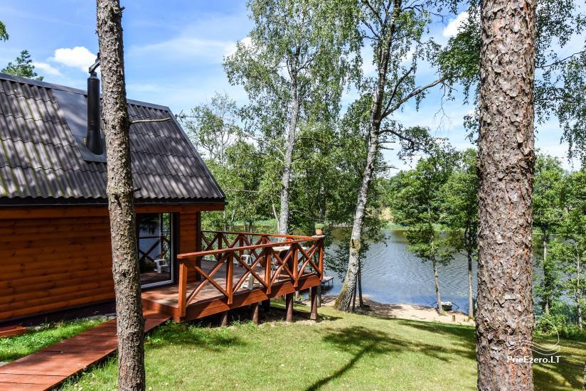Lauku māja pie ezera Ilgis Moljeta rajonā, Lietuvā - 1