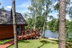 Lauku māja pie ezera Ilgis Moljeta rajonā, Lietuvā