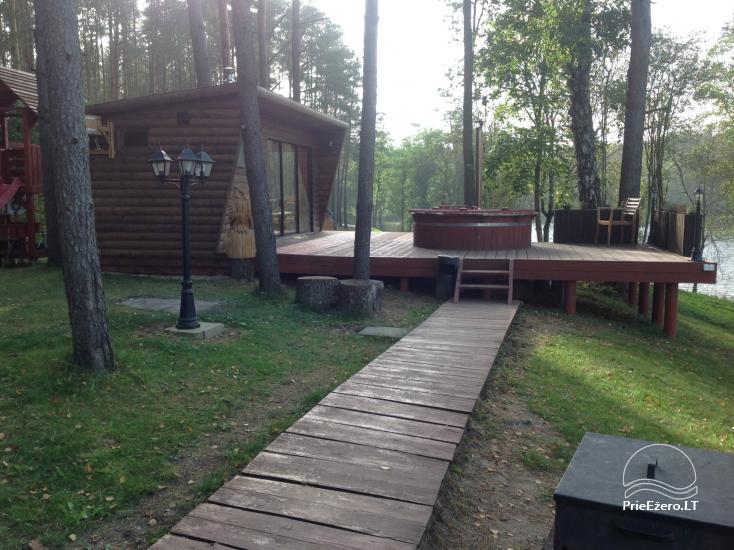 Lauku māja pie ezera Ilgis Moljeta rajonā, Lietuvā - 12