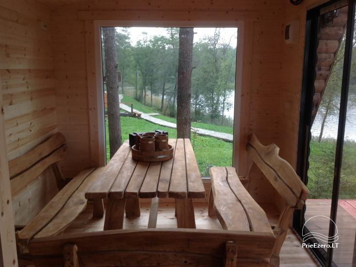 Lauku māja pie ezera Ilgis Moljeta rajonā, Lietuvā - 17