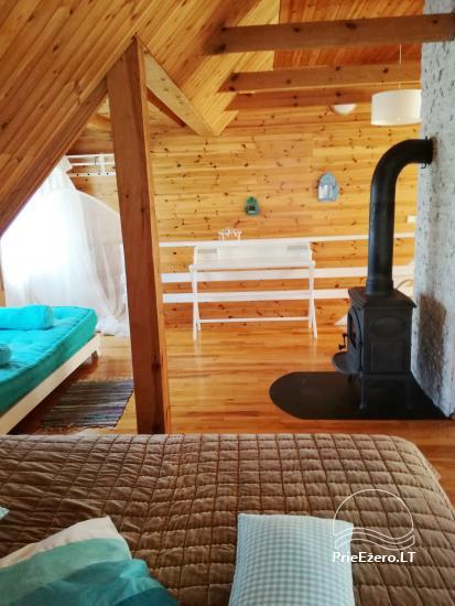 Atsevišķa ģimenes brīvdienu māja pie ezera Alytu rajona, Lietuvā - 13