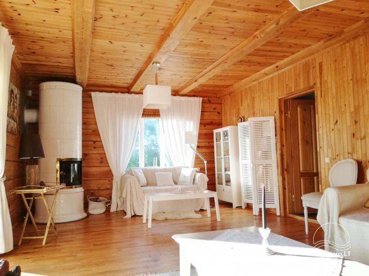 Atsevišķa ģimenes brīvdienu māja pie ezera Alytu rajona, Lietuvā - 8